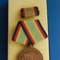 Militaria: ALEMANIA. DDR. NVA. ORDEN FÜR TREUE DIENSTE NATIONALE VOLKSARMEE. MEDALLA CONSTANCIA EN EL SERVICIO. Lote 54161699