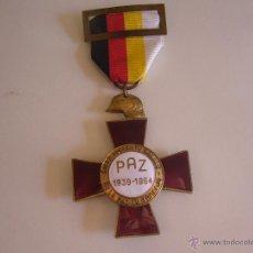 Militaria: MEDALLA CRUZ CONMEMORATIVA 25 XXV AÑOS DE PAZ. 1939 1964. Lote 54176379