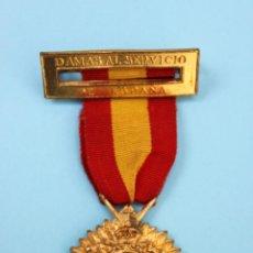 Militaria: MEDALLA DAMAS AL SERVICIO DE ESPAÑA SAN SEBASTIAN. Lote 54202123