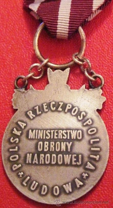 Militaria: MEDALLA MILITAR POLONIA SEGUNDA GUERRA MUNDIAL WWII 1945 GRUNWALD BERLIN DIFICIL DE CONSEGUIR - Foto 2 - 54293188
