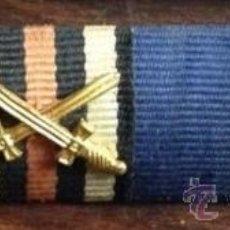Militaria: PASADORES (4) DE LA CRUZ DE HIERRO + ... + 25 AÑOS DE LEAL SERVICIO AL ESTADO ALEMÁN WW 2 - 3º REICH. Lote 54397133