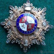 Militaria: PLACA CRUZ DE GUERRA O MERITO EN CAMPAÑA. Lote 54341558