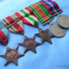 Militaria: PASADOR DE VETERANO BRITÁNICO DEL 8º EJERCITO DE MONTGOMERY. CAMPAÑAS DE AFRICA E ITALIA. 2ª GM.. Lote 54555004