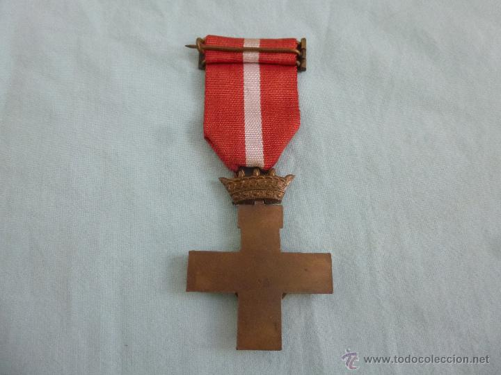 Militaria: Medalla Merito Militar distintivo rojo...epoca Franco.. original.... - Foto 2 - 54580553
