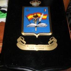 Militaria: METOPA CENTRO MILITAR DEPORTIVO Y CULTURAL ''SAN JORGE''. Lote 54591002