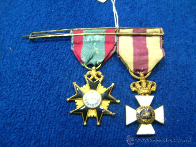 Militaria: pasador isabelino tamaño princesa benemerito a la patria y san hermenegildo - Foto 2 - 54624676