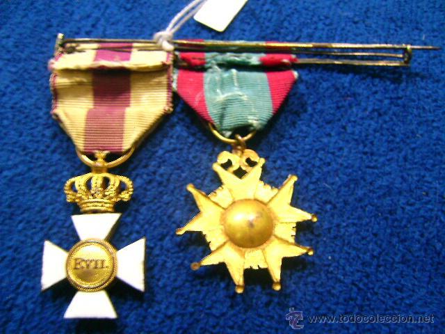 Militaria: pasador isabelino tamaño princesa benemerito a la patria y san hermenegildo - Foto 6 - 54624676