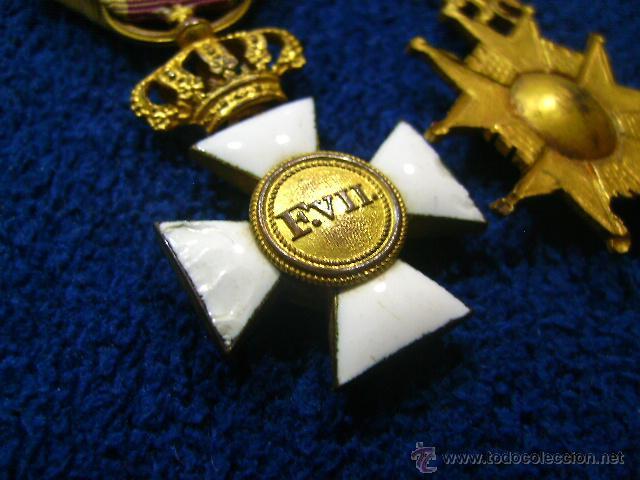 Militaria: pasador isabelino tamaño princesa benemerito a la patria y san hermenegildo - Foto 7 - 54624676