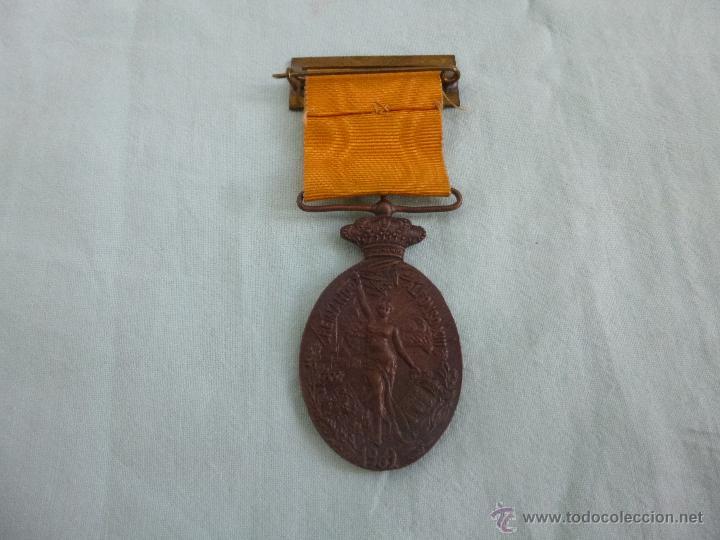 Militaria: Medalla campaña del Rif..marruecos..original.. - Foto 2 - 54654158