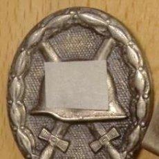Militaria: INSIGNIA DE LA HERIDA EN PLATA. ALEMANIA - 3º REICH - WW 2 - ESVASTICA. Lote 54681787