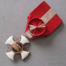 Militaria: ORDEN DE LA CORONA DE ITALIA , CATEGORÍA OFICIAL. Lote 54703795