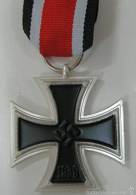 CRUZ DE HIERRO 2 CLASE (Militar - Reproducciones y Réplicas de Medallas )