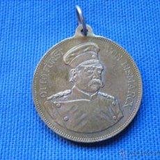 Militaria: MEDALLA ALEMANA - FECHADA 1888 - 4 CM. DIAMETRO - OTTO FURST VON BISMARCK. Lote 54809340