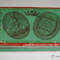 Militaria: CAJA ORIGINAL DE LA MEDALLA A LOS DEFENSORES DE LA CARRACA. 1873. B CASTELLS. MUY DIFÍCIL.. Lote 54873848
