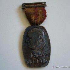 Militaria: MEDALLA DE LA PEREGRINACIÓN SINDICAL A ROMA 1961. Lote 54910844