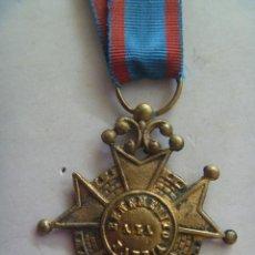 Militaria: MEDALLA DE BENEMERITO POR LA PATRIA PARA TROPA , EPOCA ISABEL II . SIGLO XIX . ORIGINAL. Lote 54954828