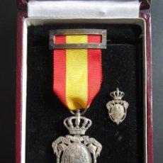 Militaria: MEDALLA E INSIGNIA INSTITUTO NACIONAL DE PREVISIÓN. LEY DE XXVII FEBRERO MCMVIII.. Lote 54978809