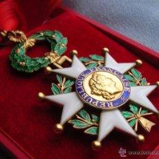 Militaria: ORDEN DE LA LEGION DE HONOR. GRADO DE COMANDANTE. CASA DE LA MONEDA DE PARIS. ESTUCHE. ORIGINAL100%.. Lote 55003153