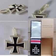 Militaria: REPLICA CRUZ DE CABALLERO DE JUNCKER 800 L/12 + DECRETO DE CONCESION. Lote 55017235