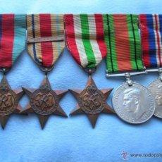Militaria: PASADOR DE VETERANO BRITÁNICO DEL 8º EJERCITO DE MONTGOMERY. CAMPAÑAS DE AFRICA E ITALIA. 2ª GM.. Lote 55020012