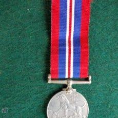 Militaria: MEDALLA INGLESA II GUERRA MUNDIAL. Lote 55044882