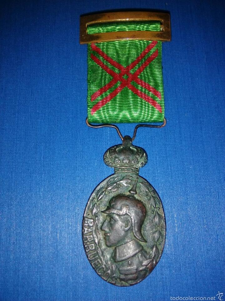 MEDALLA CAMPAÑA MARRUECOS (Militar - Medallas Españolas Originales )