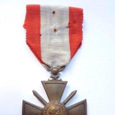 Militaria: FRANCIA - VARIANTE: CRUZ DE GUERRA 1939 & TEATRO DE OPERACIONES EXTERIORES (ENTREGADA EN INDOCHINA). Lote 55148897
