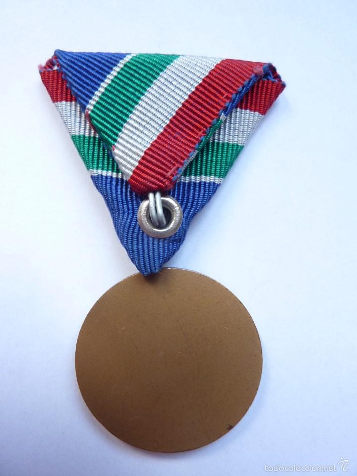 Militaria: Hungría: Medalla del mérito en la lucha contra las inundaciones. - Foto 2 - 55149576