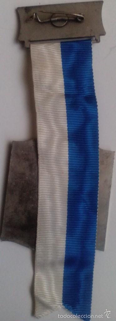 Militaria: Medalla Estatua de la Libertad. Amistad EE.UU. - Alemania. Himmelstadt. 1975 - Foto 2 - 55574248