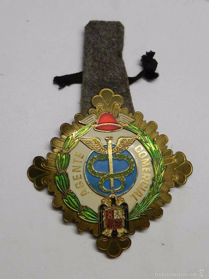 Insignia esmaltada de gran tama o de agente com comprar medallas militares espa olas - Agente comercial colegiado ...