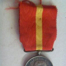 Militaria: GUERRA CARLISTA 1873-74 : MEDALLA DE LOS VENCEDORES DE LOS CARLISTAS. ALFONSO XII , PLATA. Lote 56051011