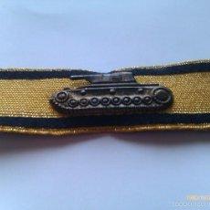 Militaria: PARCHE INSIGNIA DESTRUCCIÓN DE TANQUE. CLASE ORO. ALEMANIA. III REICH. 1939-1945. II GUERRA MUNDIAL.. Lote 56463834