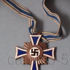 Militaria: 1 CRUZ DE LA MADRE ALEMANA. CATEGORÍA BRONCE.. Lote 56169634