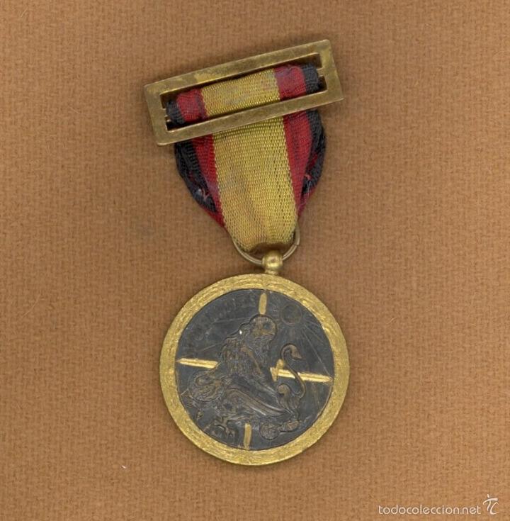 MEDALLA DE LA CAMPAÑA, 1938, ESPAÑA, C.T.V., LEGION CONDOR, GUERRA CIVIL ESPAÑOLA, DIVISION AZUL. (Militar - Medallas Españolas Originales )