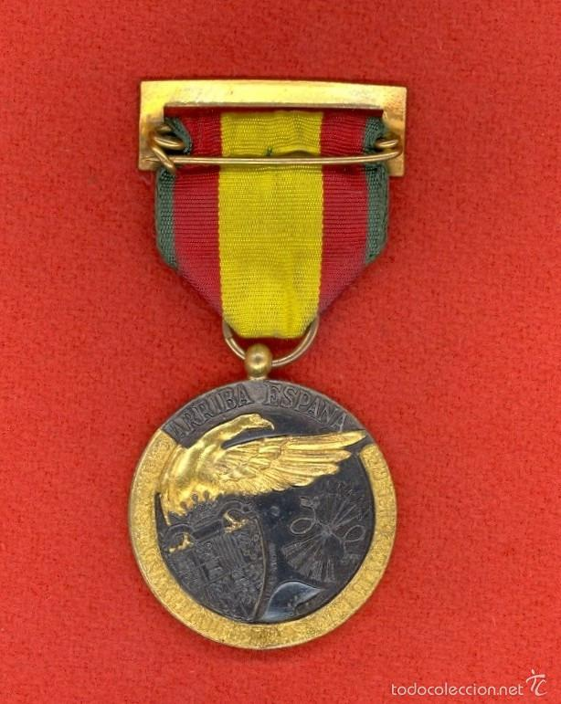 Militaria: MEDALLA DE LA CAMPAÑA 1938, ESPAÑA, C.T.V. Y LEGION CONDOR, GUERRA CIVIL ESPAÑOLA, DIVISION AZUL. - Foto 2 - 56419977