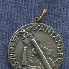 Militaria: MEDALLA ITALIANA DE LA TOMA DE SANTANDER. 26 DE AGOSTO DE 1937. ORIGINAL. MARCADA.. Lote 56657148