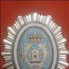Militaria: PLACA DE PECHO DE LA POLICÍA LOCAL DE MARBELLA (MALAGA). Lote 56657808