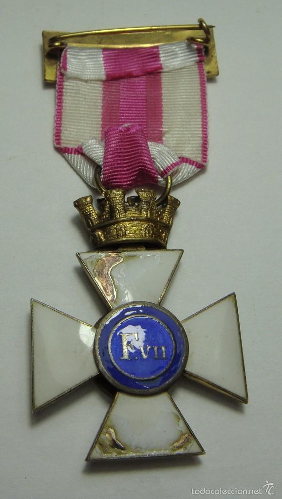Militaria: Cruz de la Orden de San Hermenegildo. República. - Foto 3 - 56869685