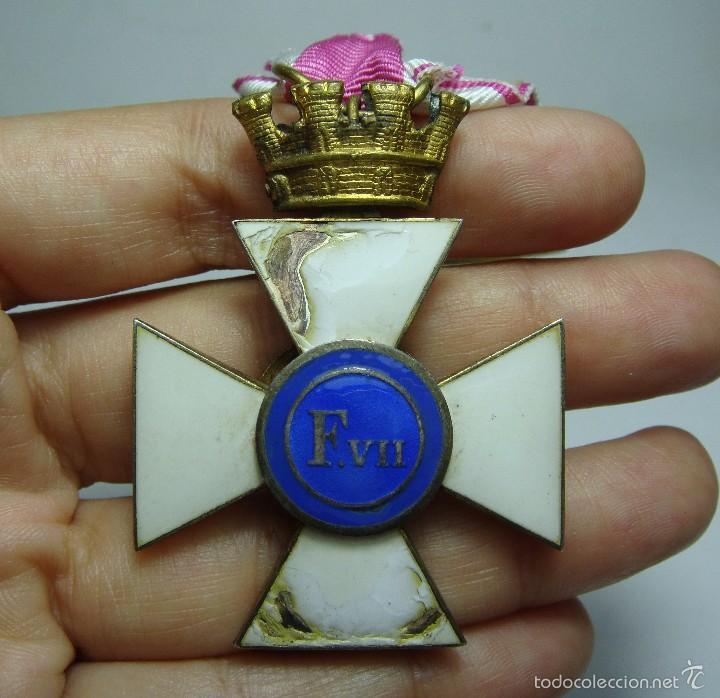 Militaria: Cruz de la Orden de San Hermenegildo. República. - Foto 5 - 56869685