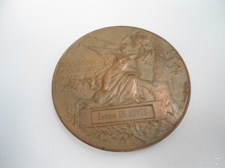 MEDALLA EXPOSITION UNIVERSELLE - PARIS ´- 1889 - REPUBLIQUE FRANÇAISE (Militar - Medallas Internacionales Originales)