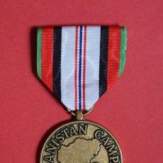 Militaria: MEDALLA USA DE SERVICIO EN LA CAMPAÑA DE AFGANISTAN. Lote 57092783