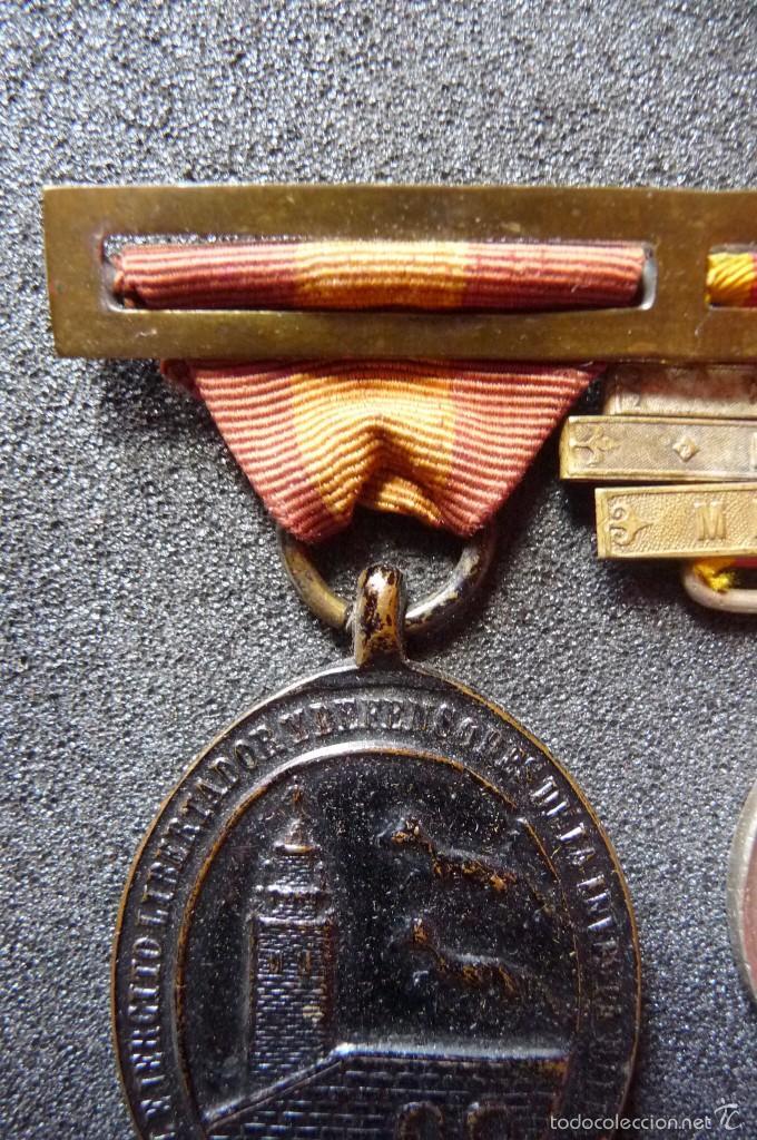 Militaria: (JX-1440)Pasador con las medallas de Bilbao (G.C.747) y Alfonso XII (G.C.756) . Guerras Carlistas . - Foto 3 - 57154128