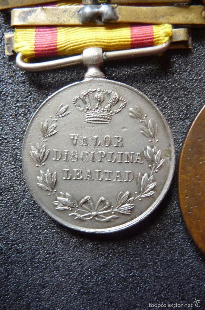 Militaria: (JX-1440)Pasador con las medallas de Bilbao (G.C.747) y Alfonso XII (G.C.756) . Guerras Carlistas . - Foto 11 - 57154128