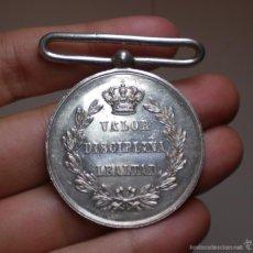Militaria: MEDALLA ALFONSO XII A LOS EJERCITOS VENCEDORES DE LOS CARLISTAS, 1873-1874. Lote 57161757