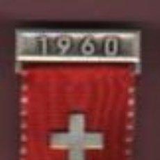Militaria: MEDALLA SUIZA HELVETIA - SSV SSC - EFS TFC 1960 DER WEHRHAFTE SCHWEIZER AN DER ARBEIT . Lote 57185560
