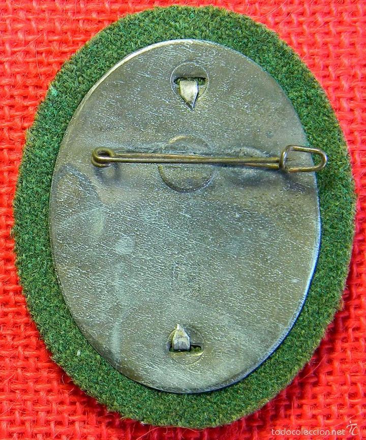 Militaria: Replica museum - Placa de identificación Bergwacht Hilfspolizei Tirol Vorarlber - Alemania III Reich - Foto 2 - 53669445