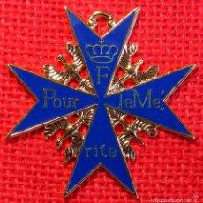 Militaria: ALEMANIA IMPERIAL - POUR LE MERITE - METAL Y ESMALTE.. Lote 54975359