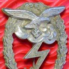 Militaria: LUFTWAFFE LUCHA EN TIERRA PARA TROPAS. 50 COMBATES. ERDKAMPFABZEICHEN. REPRODUCCIÓN DE ALTA CALIDAD.. Lote 56824640