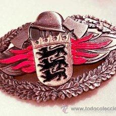 Militaria: CONDECORACION ORIGINAL DE BOMBEROS ALEMANES( FEUERWEHR LEISTUNGSABZEICHEN BADEN-WÜRTT). Lote 57419205