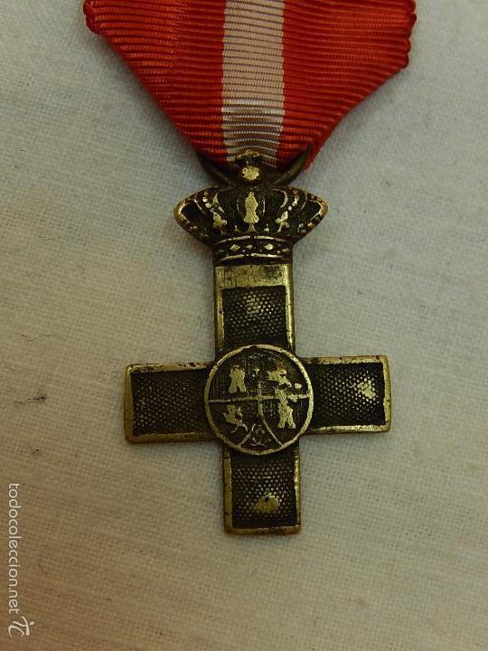 Militaria: Cruz del Mérito Militar Distintivo Rojo. - Foto 3 - 57420119